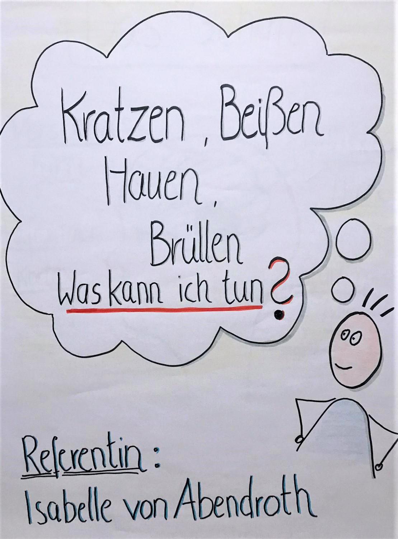Isabelle von Abendroth - Elterncoaching - Kindergarten - Kratzen, Beißen, Hauen, Brüllen, Was kann ich tun?